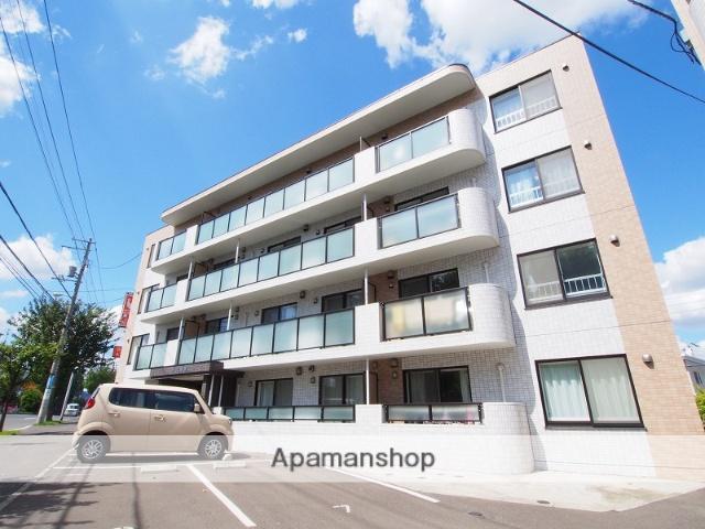 北海道札幌市豊平区、福住駅徒歩16分の築5年 4階建の賃貸マンション
