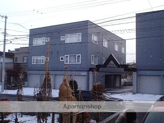 北海道札幌市豊平区、美園駅徒歩25分の築21年 3階建の賃貸アパート