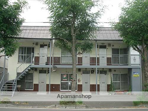 北海道札幌市豊平区、菊水駅徒歩15分の築45年 2階建の賃貸アパート