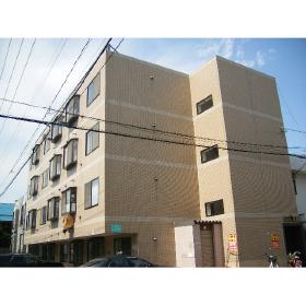 北海道札幌市豊平区、白石駅徒歩9分の築25年 4階建の賃貸マンション