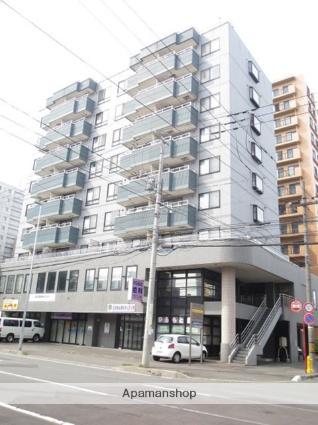 北海道札幌市豊平区、菊水駅徒歩7分の築22年 9階建の賃貸マンション
