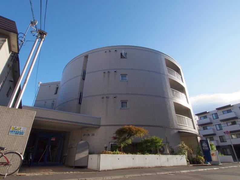 北海道札幌市豊平区、中の島駅徒歩9分の築30年 4階建の賃貸マンション