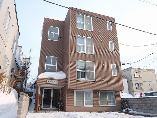 北海道札幌市豊平区、白石駅徒歩16分の築18年 4階建の賃貸マンション