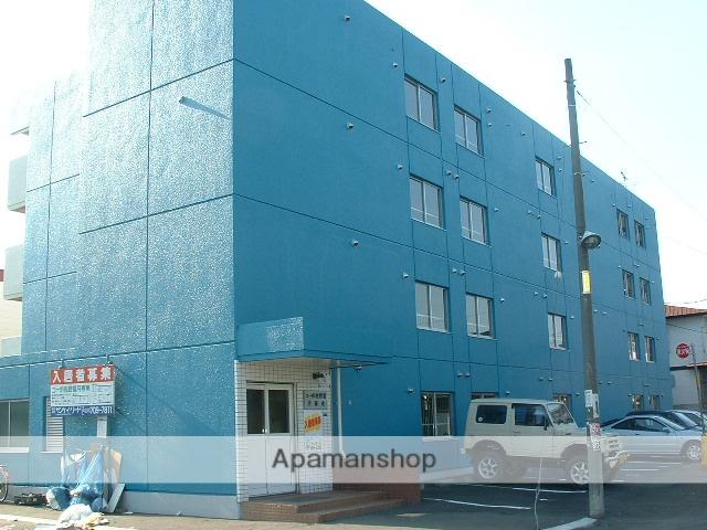 北海道札幌市豊平区、南郷7丁目駅徒歩10分の築29年 4階建の賃貸マンション