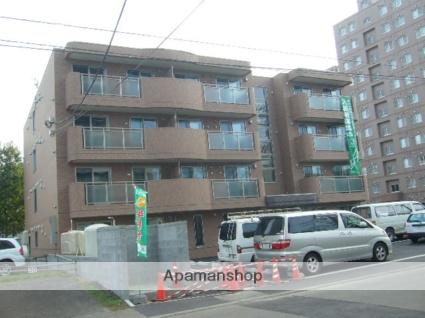 北海道札幌市豊平区、月寒中央駅徒歩18分の築9年 4階建の賃貸マンション