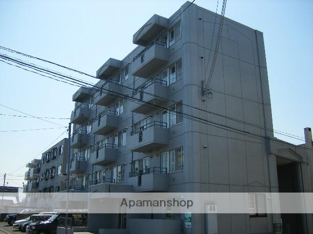 北海道札幌市南区、澄川駅徒歩16分の築28年 5階建の賃貸マンション