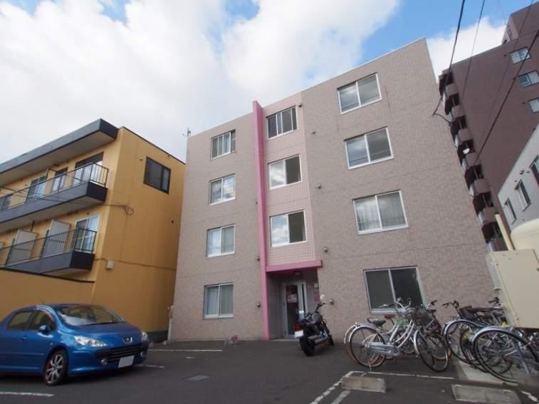 北海道札幌市豊平区、中島公園駅徒歩15分の築9年 4階建の賃貸マンション