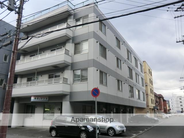 北海道札幌市豊平区、菊水駅徒歩11分の築22年 4階建の賃貸マンション
