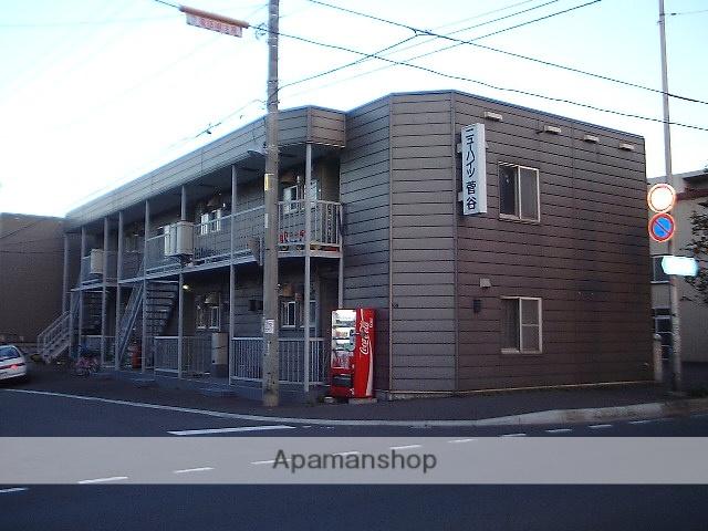 北海道札幌市豊平区、白石駅徒歩16分の築31年 2階建の賃貸アパート