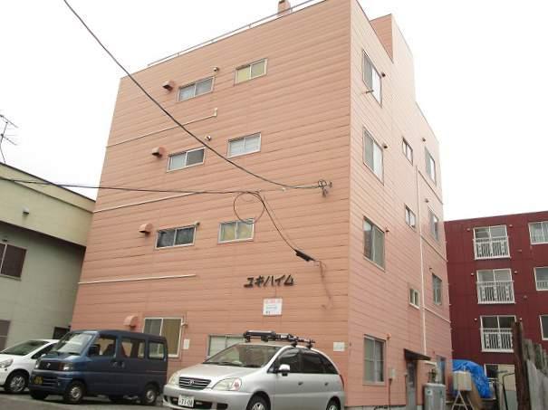 北海道札幌市豊平区、平岸駅徒歩16分の築42年 4階建の賃貸アパート