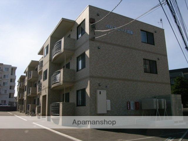 北海道札幌市豊平区、美園駅徒歩20分の築11年 3階建の賃貸マンション