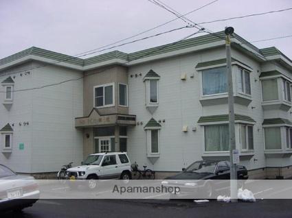 北海道札幌市白石区、菊水駅徒歩18分の築28年 2階建の賃貸アパート