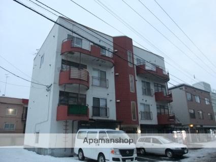 北海道札幌市豊平区、白石駅徒歩18分の築30年 4階建の賃貸マンション