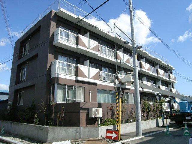 北海道札幌市豊平区、南郷7丁目駅徒歩10分の築23年 4階建の賃貸マンション