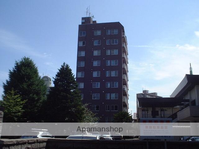 北海道札幌市豊平区、学園前駅徒歩17分の築17年 10階建の賃貸マンション
