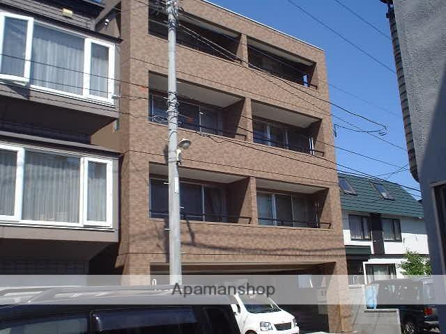 北海道札幌市豊平区、月寒中央駅徒歩7分の築14年 4階建の賃貸マンション