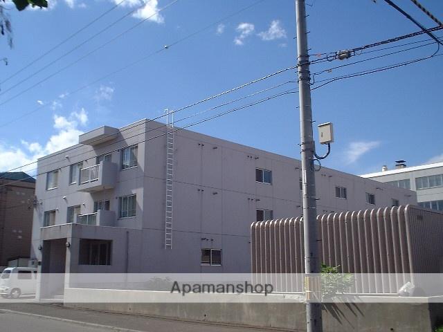 北海道札幌市豊平区、南郷7丁目駅徒歩19分の築25年 3階建の賃貸マンション