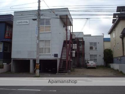 北海道札幌市豊平区、南郷7丁目駅徒歩17分の築26年 3階建の賃貸アパート