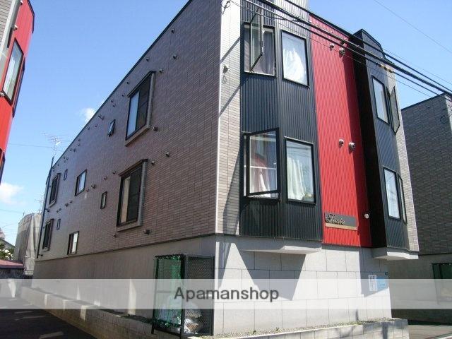 北海道札幌市豊平区、東札幌駅徒歩13分の築11年 3階建の賃貸アパート