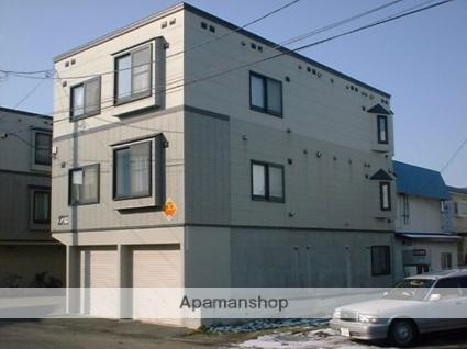 北海道札幌市豊平区、美園駅徒歩19分の築18年 3階建の賃貸アパート