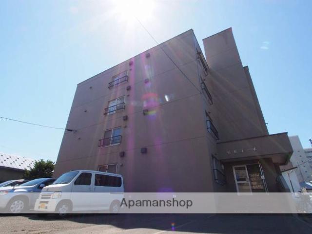 北海道札幌市豊平区、中の島駅徒歩13分の築37年 4階建の賃貸マンション