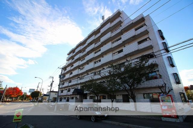 北海道札幌市豊平区、平岸駅徒歩26分の築29年 7階建の賃貸マンション