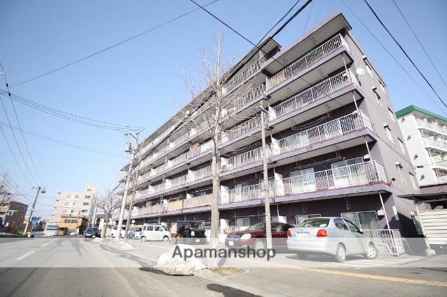 北海道札幌市豊平区、平岸駅徒歩18分の築38年 6階建の賃貸マンション