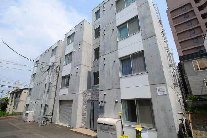 北海道札幌市豊平区、白石駅徒歩20分の築7年 5階建の賃貸マンション