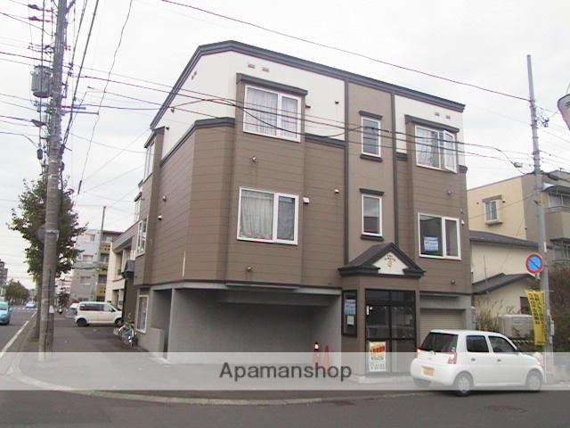 北海道札幌市豊平区、平岸駅徒歩14分の築14年 3階建の賃貸アパート