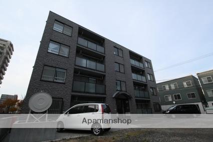 北海道札幌市豊平区、東札幌駅徒歩16分の築14年 4階建の賃貸マンション
