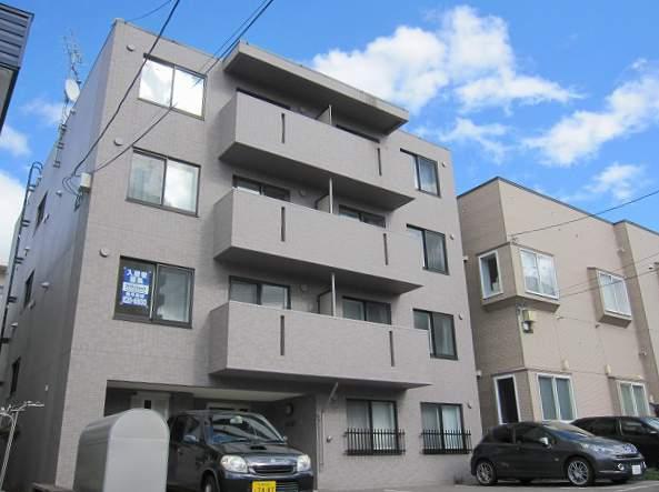 北海道札幌市豊平区、平岸駅徒歩12分の築8年 4階建の賃貸マンション