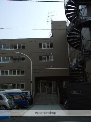 北海道札幌市豊平区、中の島駅徒歩12分の築34年 4階建の賃貸マンション