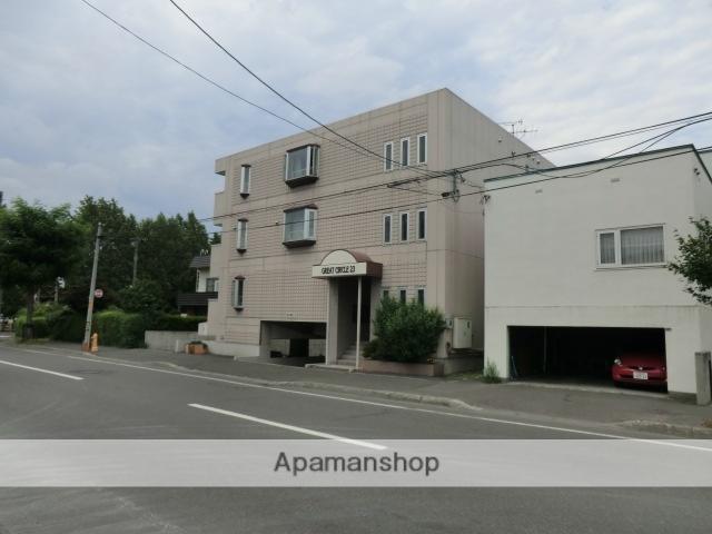 北海道札幌市豊平区、白石駅徒歩15分の築15年 3階建の賃貸マンション