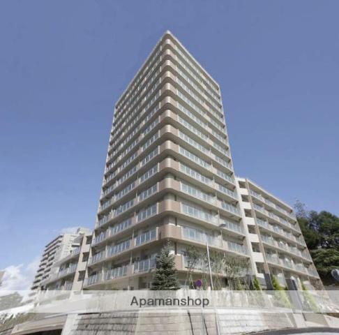 北海道札幌市南区、南平岸駅徒歩15分の築9年 15階建の賃貸マンション