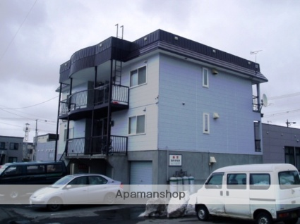 北海道札幌市南区、真駒内駅じょうてつバスバス15分石山中央下車後徒歩3分の築25年 2階建の賃貸アパート
