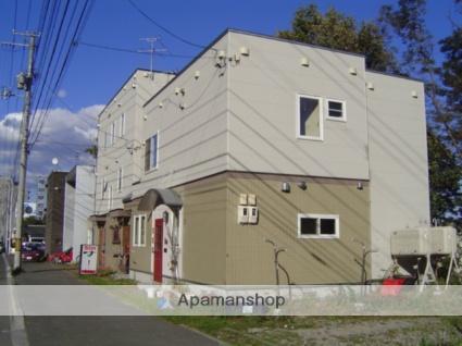 北海道札幌市南区、真駒内駅じょうてつバス5分石山陸橋下車後徒歩3分の築17年 3階建の賃貸アパート