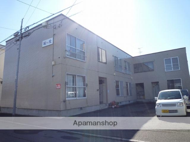 北海道札幌市豊平区、平岸駅徒歩18分の築32年 2階建の賃貸アパート