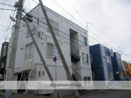 北海道札幌市南区、澄川駅徒歩10分の築32年 3階建の賃貸アパート