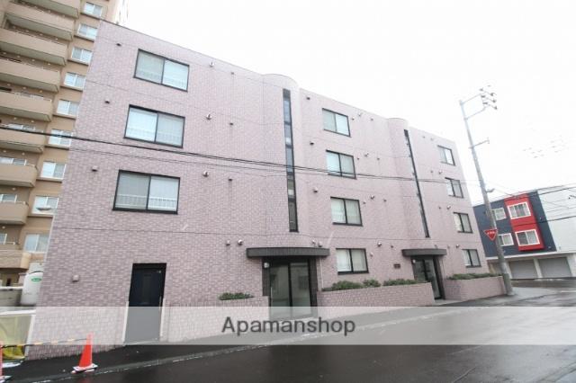 北海道札幌市豊平区、平岸駅徒歩10分の築12年 4階建の賃貸マンション