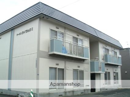 北海道札幌市西区、発寒中央駅徒歩12分の築26年 2階建の賃貸アパート