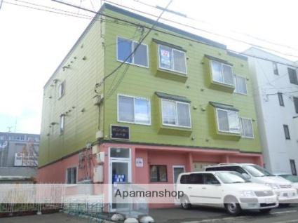 北海道札幌市西区、琴似駅徒歩18分の築21年 3階建の賃貸アパート