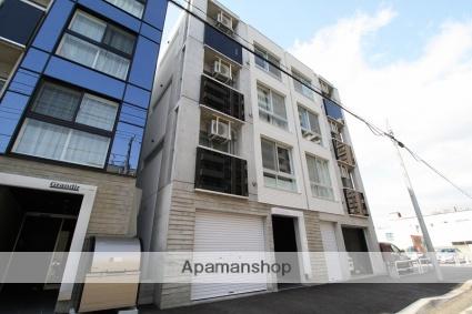 北海道札幌市豊平区、菊水駅徒歩14分の築2年 4階建の賃貸マンション
