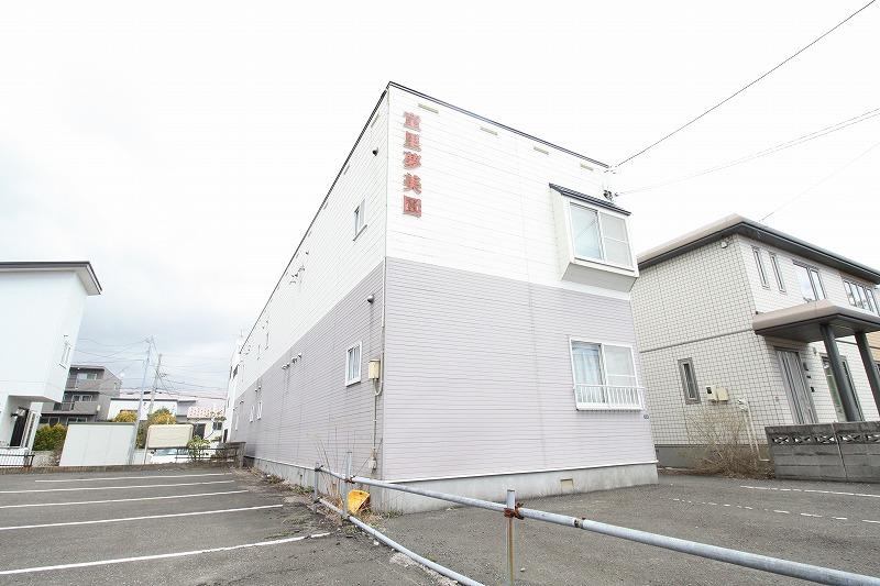 北海道札幌市豊平区、白石駅徒歩18分の築20年 2階建の賃貸アパート