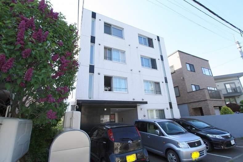 北海道札幌市豊平区、平岸駅徒歩15分の築9年 4階建の賃貸マンション