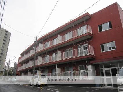 北海道札幌市豊平区、平岸駅徒歩17分の築35年 3階建の賃貸マンション