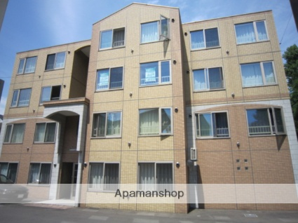 北海道札幌市豊平区、東札幌駅徒歩15分の築11年 4階建の賃貸マンション