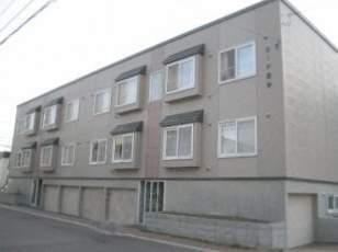北海道札幌市豊平区、菊水駅徒歩15分の築17年 2階建の賃貸アパート