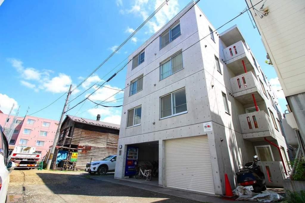 北海道札幌市中央区、バスセンター前駅徒歩3分の築7年 4階建の賃貸マンション