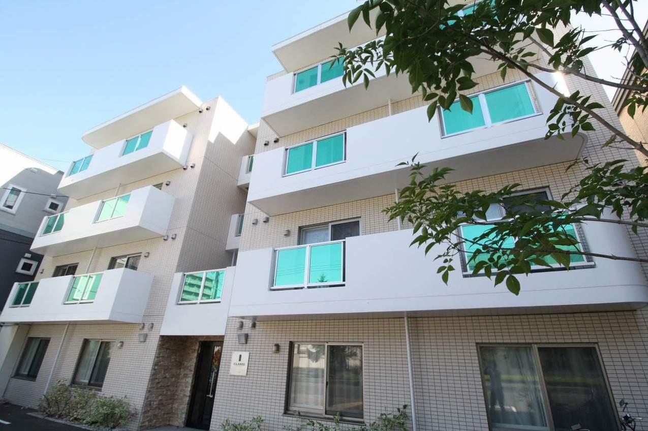 北海道札幌市白石区、菊水駅徒歩5分の築5年 4階建の賃貸マンション