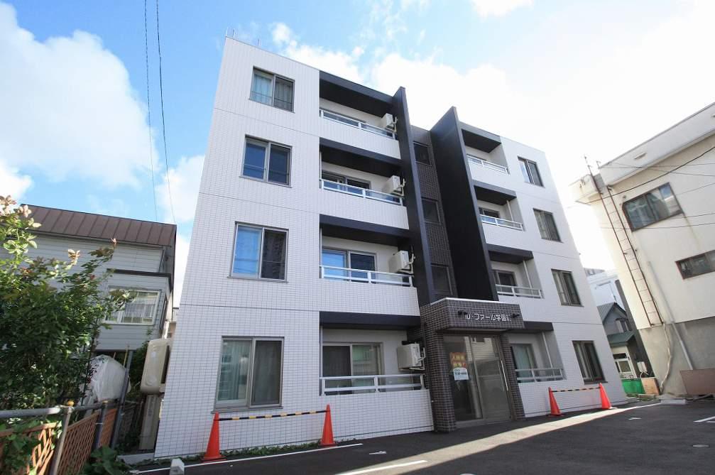 北海道札幌市豊平区、菊水駅徒歩15分の築2年 4階建の賃貸マンション